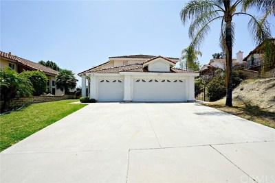 Chino Hills Single Family Home For Sale: 2445 Monte Royale Drive