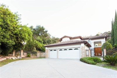 West Covina Single Family Home For Sale: 3158 Hunter Place