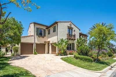 Chino Hills Single Family Home For Sale: 2992 Versante Terrace
