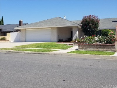 Chino Hills Single Family Home For Sale: 3654 Whirlaway Lane