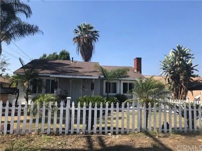 Pomona Single Family Home For Sale: 637 W Fernleaf Avenue
