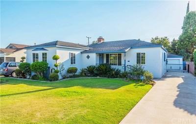 San Gabriel Single Family Home Active Under Contract: 555 N Del Mar Avenue