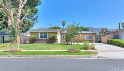 Glendora Single Family Home For Sale: 755 W Heber Street