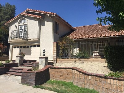 Rowland Heights Single Family Home For Sale: 2223 Fallen Drive