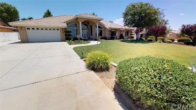 Apple Valley Single Family Home For Sale: 12775 Sorrel Drive