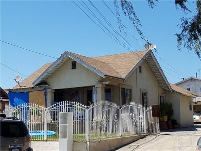 Los Angeles Multi Family Home For Sale: 3853 Percy Street