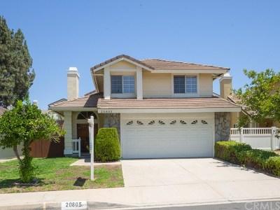 Walnut Single Family Home For Sale: 20805 E Rocky Point Lane