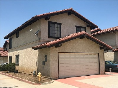 Pomona Condo/Townhouse For Sale: 1013 S Reservoir Street