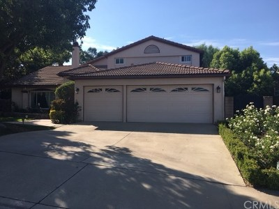 Chino Hills Single Family Home For Sale: 15201 Turquoise Circle N