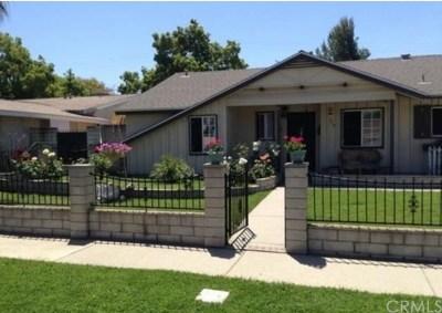 Pomona Single Family Home For Sale: 510 Foxpark