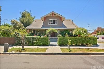 Pomona Single Family Home For Sale: 274 W 10th Street