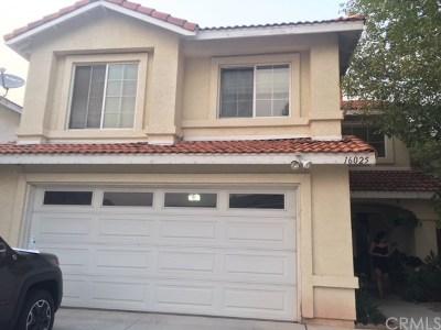 La Puente Single Family Home For Sale: 16025 Garrett Court
