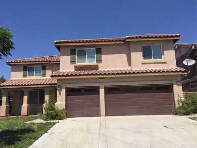 Lake Elsinore Single Family Home For Sale: 40936 Carnegie Circle