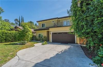 Los Angeles Single Family Home For Sale: 3836 Oak Hill Avenue