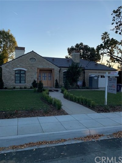 Arcadia Single Family Home For Sale: 518 N Altura Road