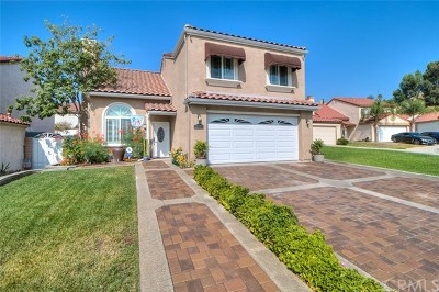 Chino Hills Single Family Home For Sale: 12956 Oakland Way