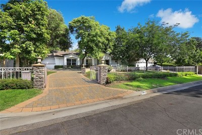Pasadena Single Family Home For Sale: 754 Vallombrosa Drive