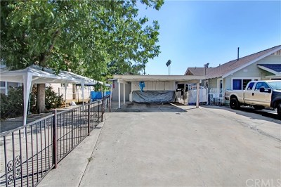 Pomona Multi Family Home For Sale: 860 W 7th St
