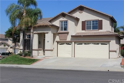 Chino Hills Single Family Home For Sale: 16789 Berryessa Court