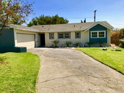 Upland Single Family Home For Sale: 1459 Juanita Court