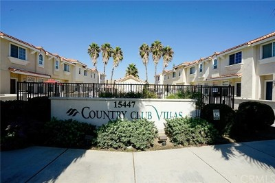 Chino Hills Condo/Townhouse For Sale: 15447 Pomona Rincon Road #523