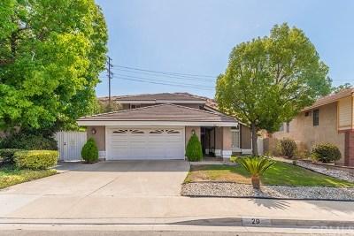 Pomona Single Family Home For Sale: 29 Sunset Ridge Circle