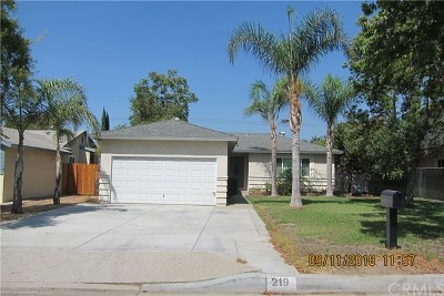 West Covina Single Family Home For Sale: 219 N Leland Avenue