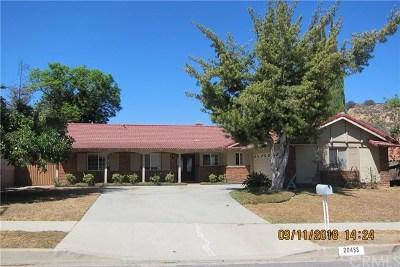 Walnut Single Family Home For Sale: 20453 Seton Hill Drive