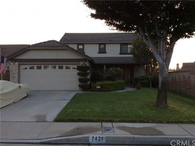 Rancho Cucamonga Single Family Home For Sale: 7421 Aurora Place