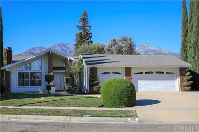Upland Single Family Home For Sale: 589 E Monitor Court