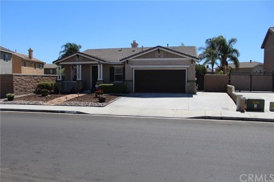 Eastvale Single Family Home For Sale: 12833 Pattison Street