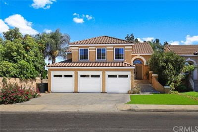 Chino Hills Single Family Home For Sale: 15055 Calle Del Oro