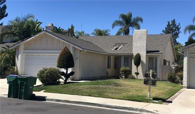 Mission Viejo Single Family Home For Sale: 21931 Bacalar