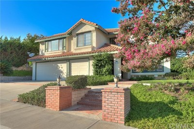 Chino Hills Single Family Home For Sale: 2360 Olympic View Drive