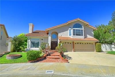 Yorba Linda Single Family Home For Sale: 20450 Via Linares