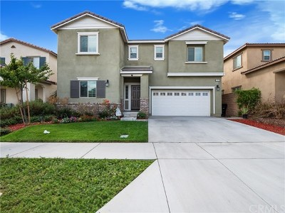 Fontana Single Family Home For Sale: 7250 Willowmore Drive