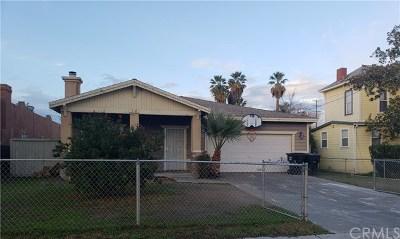 San Bernardino Single Family Home For Sale: 718 W 7th Street