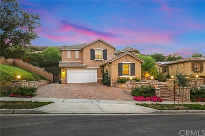Chino Hills Single Family Home For Sale: 16436 Bell Ridge Drive