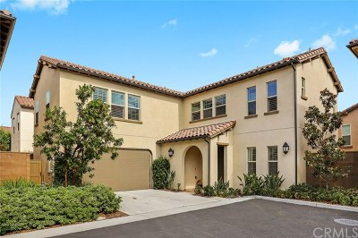 Irvine Condo/Townhouse For Sale: 177 Firefly