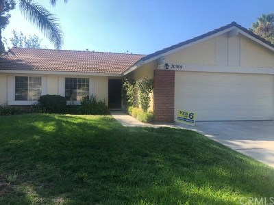 Temecula Single Family Home For Sale: 30769 Sky Terrace Drive