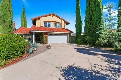 Walnut Single Family Home For Sale: 1354 Tierra Siesta