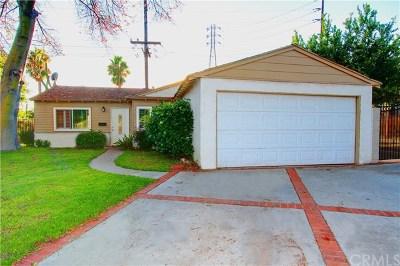 Pomona Single Family Home For Sale: 1395 Cornelia Street