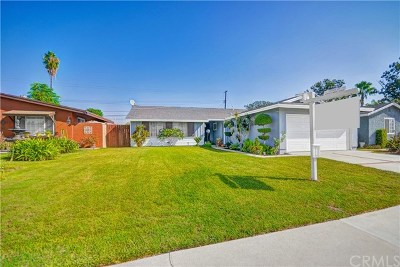 La Puente Single Family Home For Sale: 14141 Barrydale Street