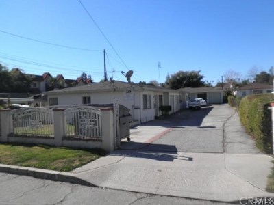 San Gabriel Multi Family Home For Sale: 325 S Arroyo Drive