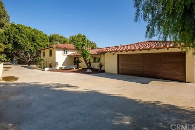 Walnut Single Family Home For Sale: 20485 Fuerte Drive