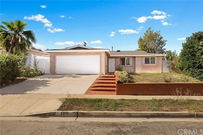 Rowland Heights Single Family Home For Sale: 2215 Paso Real Avenue