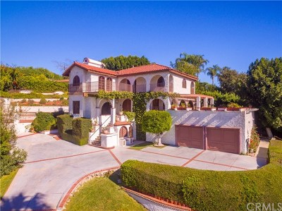 La Habra Heights Single Family Home For Sale: 1023 West Road