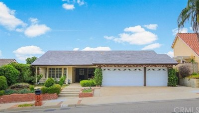 La Habra Single Family Home For Sale: 271 E. Country Hills Dr.