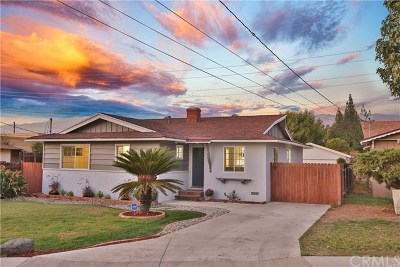 Glendora Single Family Home For Sale: 421 W Dawson Avenue