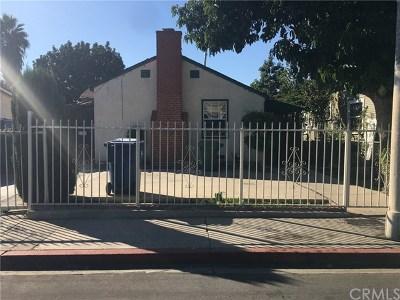 Los Angeles Single Family Home For Sale: 10901 Lou Dillon Avenue